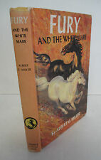 FURY And The White Mare by Albert G Miller, 1960s Hardcover