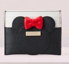 New Kate Spade Minnie Mouse Minnie Card Case