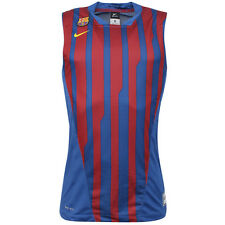 Nike Basketball Barcelona FC Sleeveless Mens Vest Blue Red 428986 425 UA26