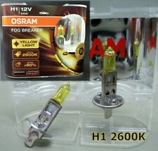 H1 OSRAM  2600K Fog Breaker 12V 55W Yellow Globe Car Lamp Bulb Head Light #Agtt