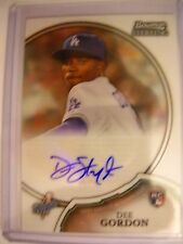 Dee GORDON ROOKIE 2011 BOWMAN STERLING ROOKIE AUTO'S #15  DODGERS/MARLINS !