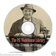100 Classic PG Wodehouse AudioBooks MP3 Collection, Jeeves, Full Library DVD E85