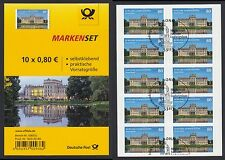 Bund FB 43 gestempelt Schloss Ludwigslust 2015 ESST 10x3128 mit Perforation!!!
