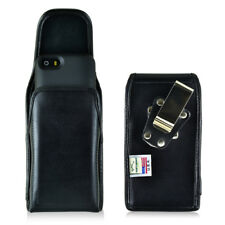 Mophie Juice Pack iPhone 5S SE Holster Turtleback Metal Clip Leather Vertical
