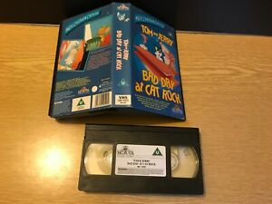 TOM & JERRY  BAD DAY AT CAT ROCK Children's Family  VIDEO VHS PAL