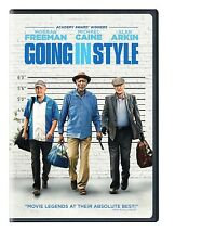 Going In Style (DVD, 2016) Morgan Freeman Michael Caine Alan Arkin NEW