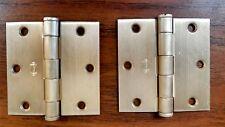 Hager 1279 US4 Brass Finish Door Hinges