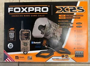 FOXPRO X2S Digital Game Call Bluetooth 100 Pre-Loaded Sounds - Camo - Free Ship!