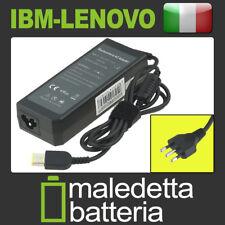 Alimentatore Caricabatterie per IBM-Lenovo 20V 4.5A 90W connettore giallo + pin