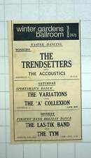 1967 Easter Dancing With The Trendsetters, The Las-tik Band Penzance
