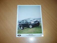 PHOTO DE PRESSE ( PRESS PHOTO ) Land Rover Freelander XE Softback  de 1997 R0096