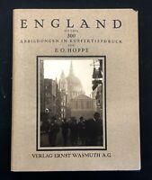 Emil Otto Hoppé / England / 1926 / Photographie / héliogravures / E/O