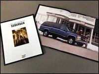 1997 Chevrolet Chevy Suburban 26-page Original Car Sales Brochure Catalog