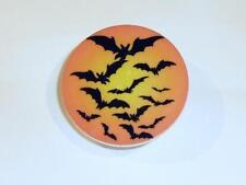 ACRYLIC HALLOWEEN BROOCH - BATS IN FLIGHT - FREE UK P&P......CG1479