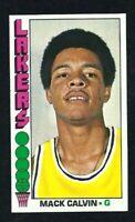 NMT 1976 Topps Basketball #62 Mack Calvin.