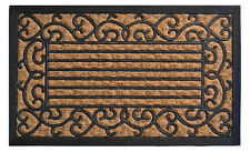 "DOOR MATS - VENETIAN PALAZZO NON BRUSH COIR & RUBBER BACKED DOORMAT - 18"" X 30"""