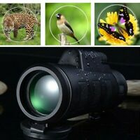 New Day Night Vision 40X60 HD Optical Monocular Hunting Camping Hiking Telescope