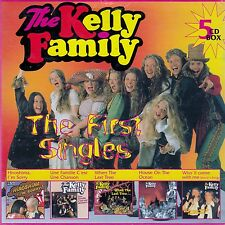 THE KELLY FAMILY : THE FIRST SINGLES / 5 CD-SET (KEL-LIFE 1996)