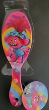 Trolls World Tour Hair Brush Comb Poppy Pink Rainbow Kids Gift Toy Microphone