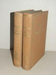 Leben und Taten des Don Quijote von la Mancha 2 Bde - Miguel de Cervantes - 1924