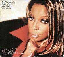 Mary J. Blige - Love Is All We Need (CD, Digipak, Single, 1997, MCA Records)