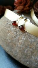 HANDMADE! Garnet Gemstone Earrings 10096