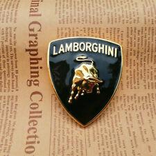 NEW Lamborghini Metal Sticker Bull Emblem Badge 65*56 MM (1PC)