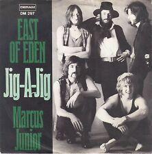 """East Of Eden """" Jig A Jig / Marcus Junior """" 1970 Deram DM 297 (Vinyl = Jig A Jag)"""