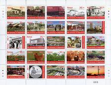 More details for kenya independence stamps 2015 mnh 50th anniv tourism cows flowers 25v m/s i