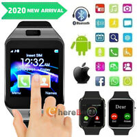 New Waterproof Bluetooth Smart Watch&Phone with Camera For iPhone Samsung LG HTC