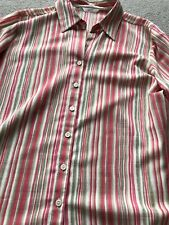 M&S Collection Striped Blouse Size 20 Smart