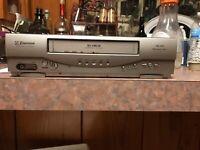 Emerson EWV403 DA 4 Head VHS VCR Tape Player Recorder Digital (just Power Cord)