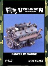 Verlinden Productions 1:35 Panzer IV Engine Resin Detail Set #910