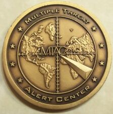 Multiple Threat Alert Center NCIS Navy Challenge Coin