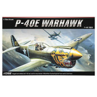 ACADEMY #12468 1/72 Plastic Model Kit P-40E The Fighter of World War II