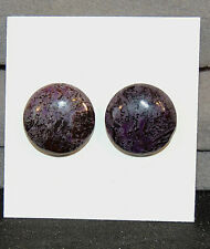 Sugilite Cabochons 16mm with 5mm Dome set of 2 South Africa  (6578)