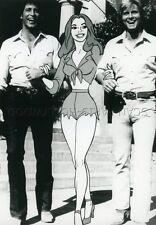 JOHN SCHNEIDER TOM WOPAT THE DUKES OF HAZZARD SHERIF FAIS-MOI PEUR VINTAGE PHOTO