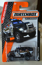 MATCHBOX SWAT TRUCK 78/120 MBX HEROIC RESCUE SERIES NEW
