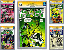 GREEN LANTERN #76-81 CGC-SS VF *ALL 6 SIGNED BY NEAL ADAMS & DENNY O'NEIL* 1970