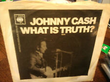 """johnny cash""""what is truth ?.single.or.uk.1970.cbs:4934."""