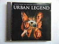 Urban Legend - Music From The Soundtrack - Various Artists - CD - FREE POST
