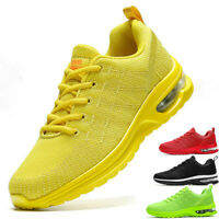 Women's Air Cushion Sneakers Casual Running Tennis Sports Walking Fit Shoes Gym