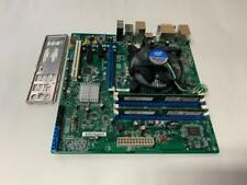 INTEL DQ67SW 1155 MOTHERBOARD W/ I5-2400 CPU + HEATSINK + 2X2GB RAM & PLATE