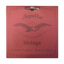 GUITAR STRINGS AQUILA GRANATO SERIES -  FLAMENCO GUITAR 1ST 2ND 3RD TREBLES 136C