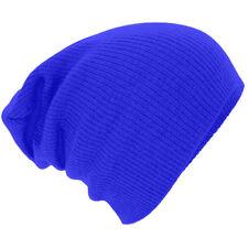 NEW Men Women Fashion Knit Baggy Beanie Oversize Winter Hat Ski Slouchy Chic Cap