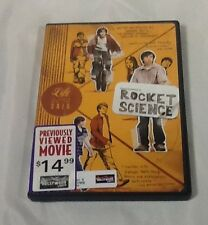 Rocket Science DVD 2007