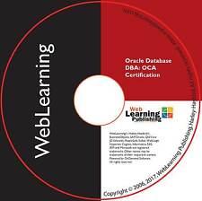 Oracle Database 11g: Certified Associate DBA (OCA) Boot Camp Self-Study CBT