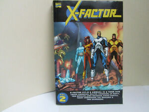 Marvel ESSENTIAL X-FACTOR-Volume 2 X-Factor # 17-35, Annual #2 Louise & Walter S