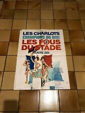 Affiche cinéma - Les Charlots - Les fous du stade