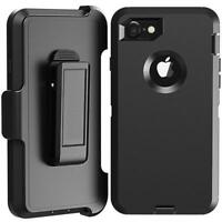 Rugged Defender Protective Case for iPhone 6 6S 7 8 Plus X 11 Pro Fits Otter Box
